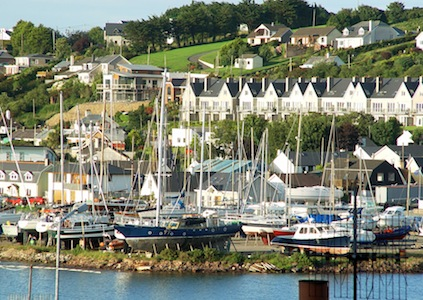 Kinsale, at the mouth of the River Bandon.